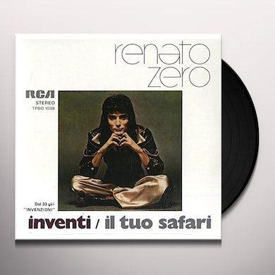 Renato Zero INVENTI / IL TUO SAFARI Vinyl Record