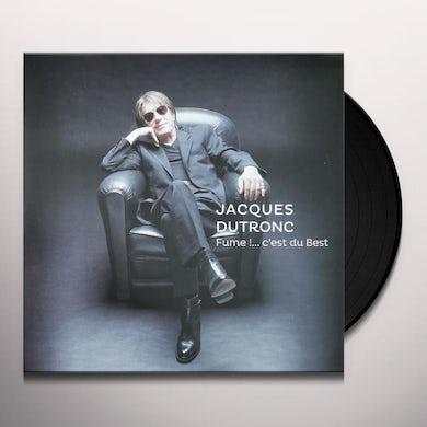 Jacques Dutronc FUME: C'EST DU BEST Vinyl Record