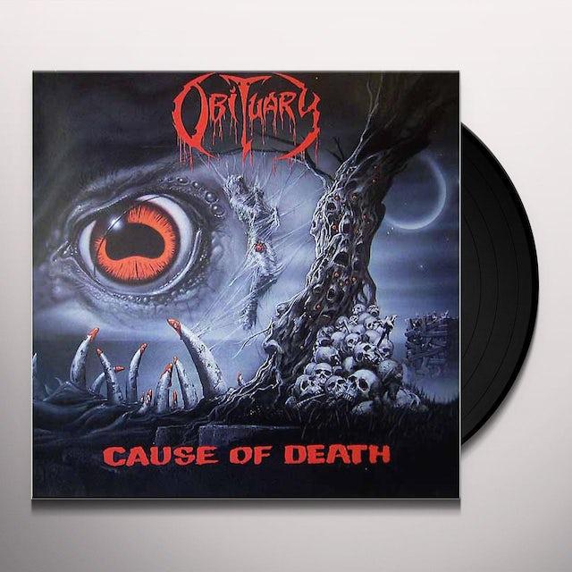 Obituary CAUSE OF DEATH Vinyl Record