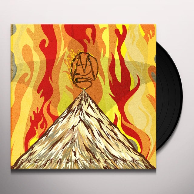 Mars Red Sky THE TASK ETERNAL Vinyl Record