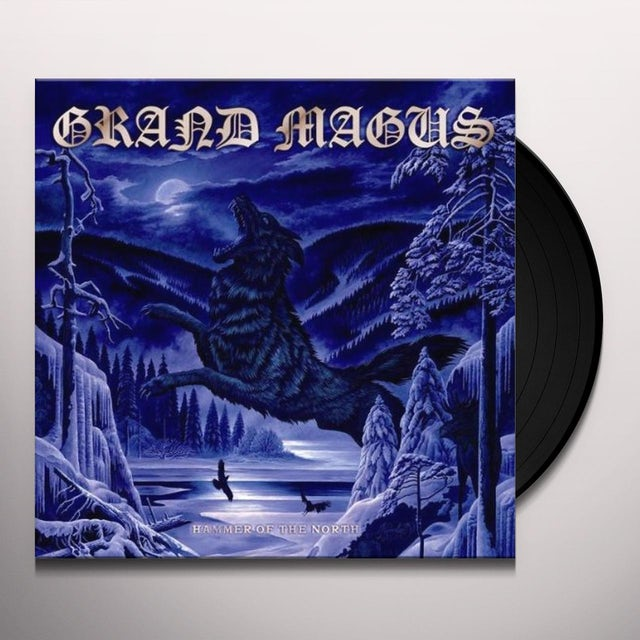 Grand Magus HAMMER OF THE NORTH Vinyl Record - 180 Gram Pressing