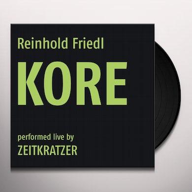 Reinhold Friedl / Zeitkratzer KORE Vinyl Record
