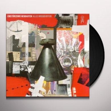 Einstürzende Neubauten ALLES WIEDER OFFEN Vinyl Record