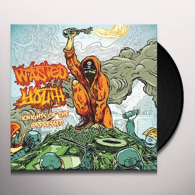 Wasted Youth KNIGHTS OF THE OPPRESSED Vinyl Record