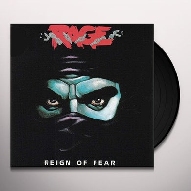 Rage REIGN OF FEAR Vinyl Record