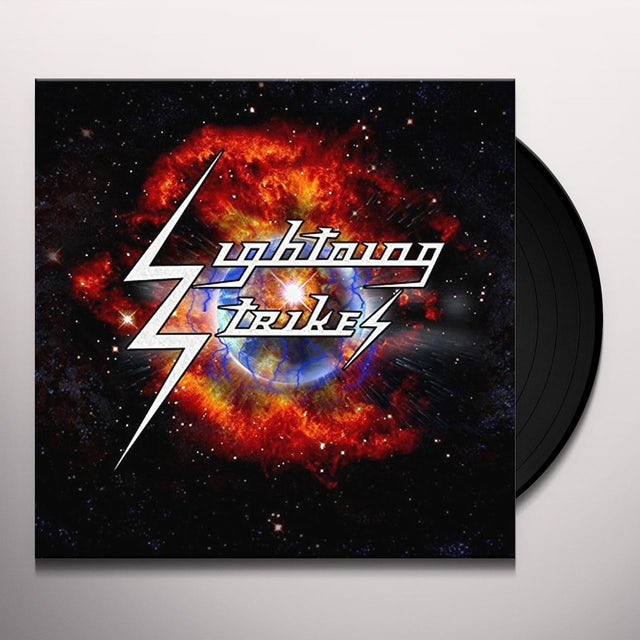 Lightning Strikes Vinyl Record