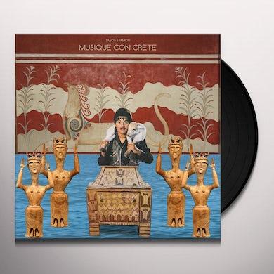 Tasos Stamou MUSIQUE CON CRETE Vinyl Record
