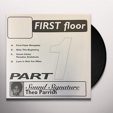 Theo Parrish FIRST FLOOR PT 1 Vinyl Record