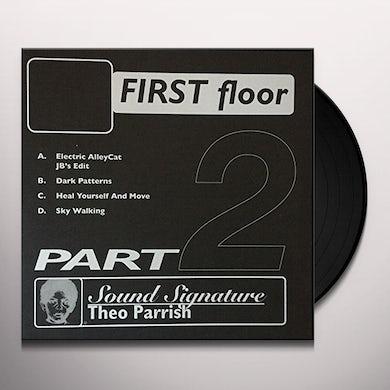 Theo Parrish FIRST FLOOR PT 2 Vinyl Record