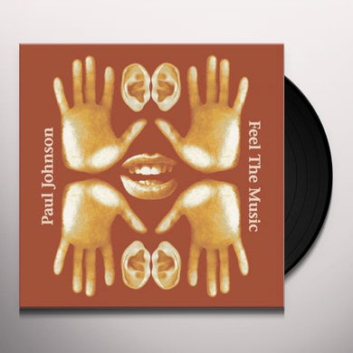 Paul Johnson FEEL THE MUSIC Vinyl Record