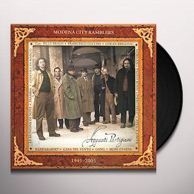 Modena City Ramblers APPUNTI PARTIGIANI Vinyl Record