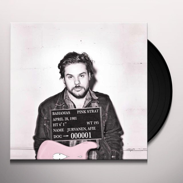 Bahamas PINK STRAT Vinyl Record