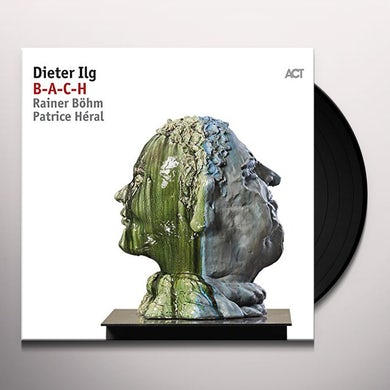 Dieter Ilg B-A-C-H Vinyl Record