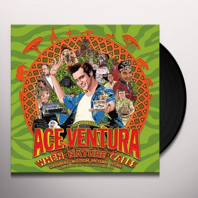 Robert Folk ACE VENTURA: WHEN NATURE CALLS / Original Soundtrack Vinyl Record