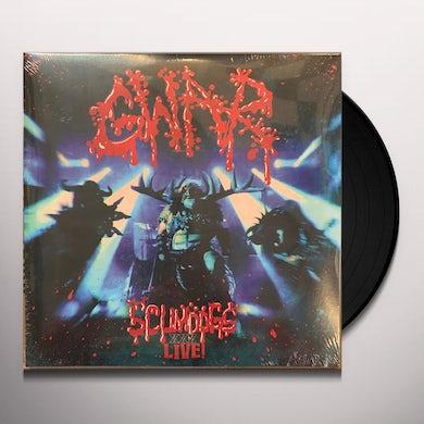 Gwar SCUMDOGS XXX LIVE Vinyl Record
