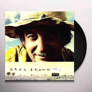 Greg Brown FREAK FLAG Vinyl Record