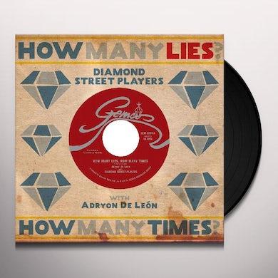 Diamond Street Players HOW MANY LIES HOW MANY TIMES Vinyl Record