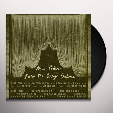 ALICE COHEN INTO THE GREY SALONS Vinyl Record