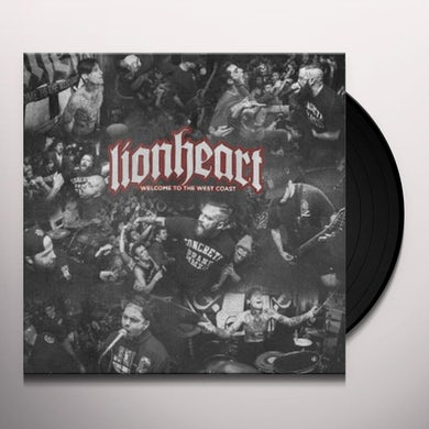 Lionheart WELCOME TO THE WEST COAST Vinyl Record