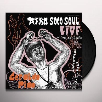 Geraldo Pino AFRO SOCO SOUL LIVE Vinyl Record