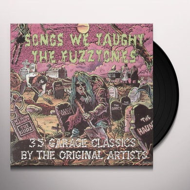 SONGS WE TAUGHT THE FUZZTONES / VARIOUS (Vinyl)