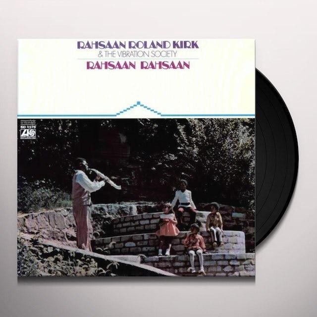 Roland Kirk RAHSAAN RAHSAAN Vinyl Record