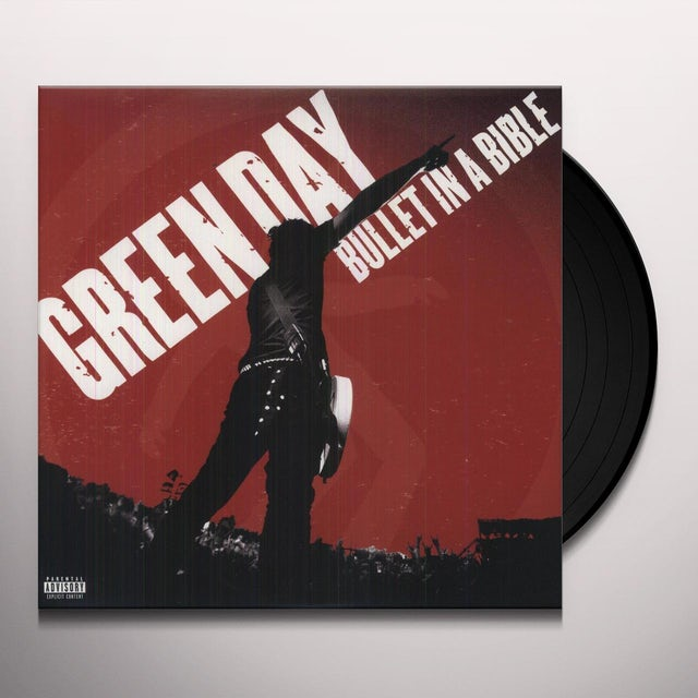 Green Day BULLET IN A BIBLE Vinyl Record