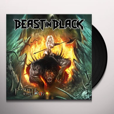 Beast In Black FROM HELL WITH LOVE Vinyl Record