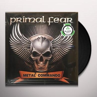 Primal Fear Metal Commando (Black Vinyl) Vinyl Record