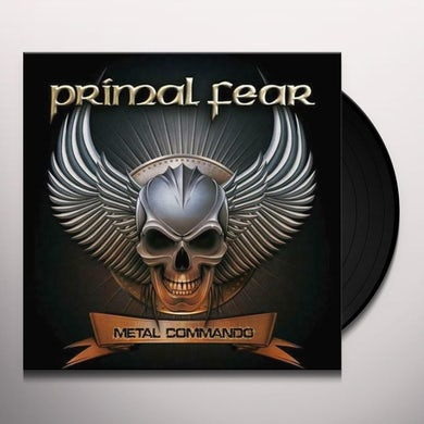 Primal Fear METAL COMMANDO (PICTURE DISC) Vinyl Record