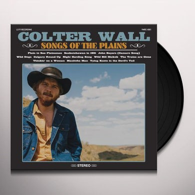 Colter Wall SONGS OF THE PLAINS Vinyl Record