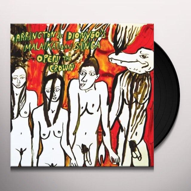 Arrington De Dionyso'S Malaikat Dan Singa OPEN THE CROWN Vinyl Record