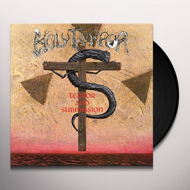Holy Terror TERROR & SUBMISSION Vinyl Record