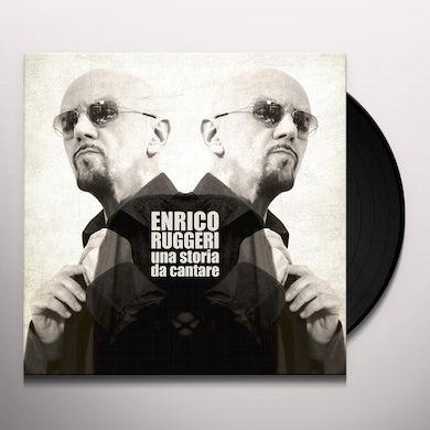 Enrico Ruggeri UN STORIA DA CANTARE Vinyl Record