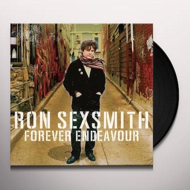 Ron Sexsmith FOREVER ENDEAVOUR Vinyl Record - Canada Release