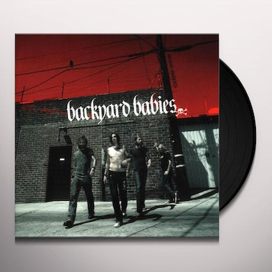 Backyard Babies STOCKHOLM SYNDROME Vinyl Record