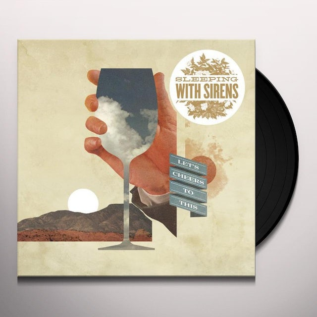 Sleeping With Sirens LETS CHEERS TO THIS Vinyl Record