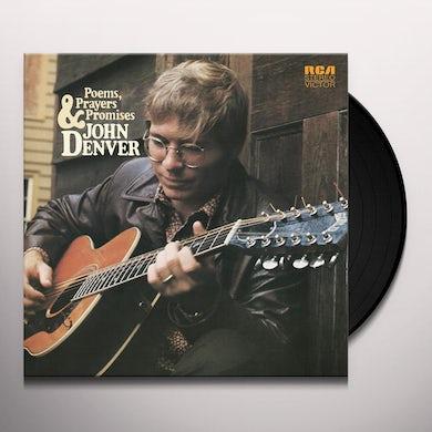John Denver POEMS PRAYERS & PROMISES Vinyl Record