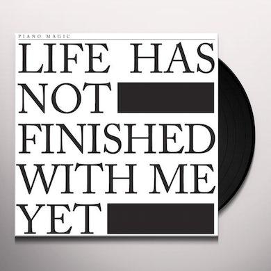 Piano Magic LIFE HAS NOT FINISHED Vinyl Record