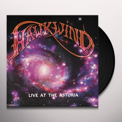 Hawkwind LIVE AT THE ASTORIA Vinyl Record