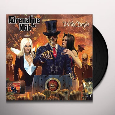 Adrenaline Mob WE THE PEOPLE Vinyl Record