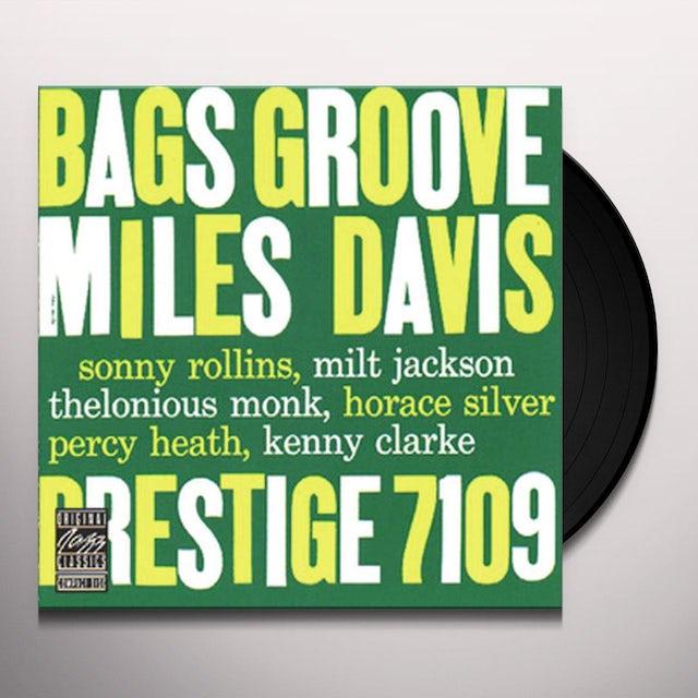 Miles Davis BAGS GROOVE Vinyl Record