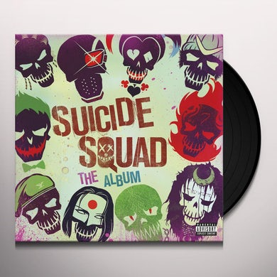 SUICIDE SQUAD: THE ALBUM / VARIOUS Vinyl Record