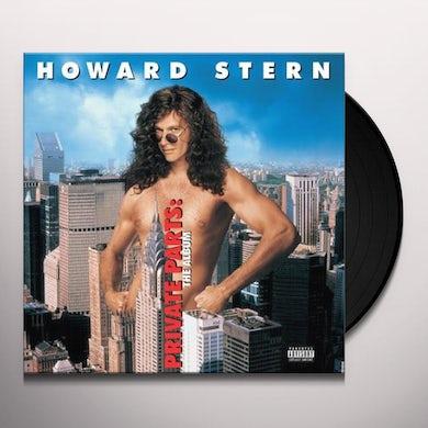 Howard Stern PRIVATE PARTS: THE ALBUM Vinyl Record
