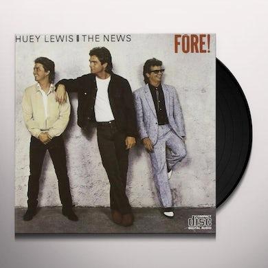 Huey Lewis FORE Vinyl Record