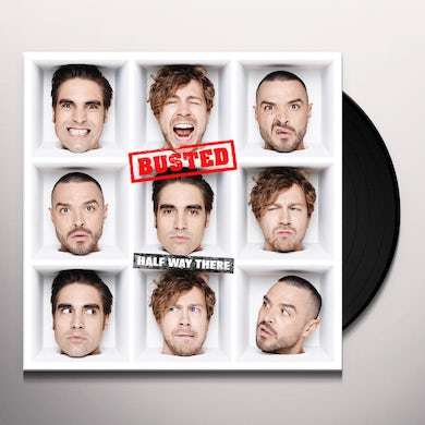 Busted HALF WAY THERE Vinyl Record