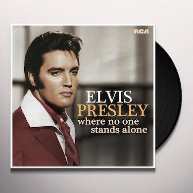 Elvis Presley Where No One Stands Alone Vinyl Record