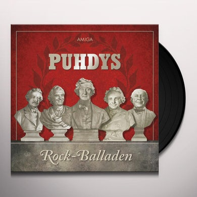 Puhdys ROCK & BALLADEN Vinyl Record