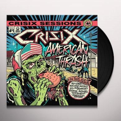 Crisix SESSIONS : #1 AMERICAN THRASH' Vinyl Record