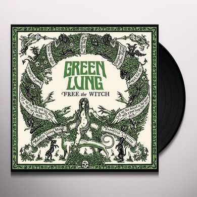 Green Lung FREE THE WITCH Vinyl Record